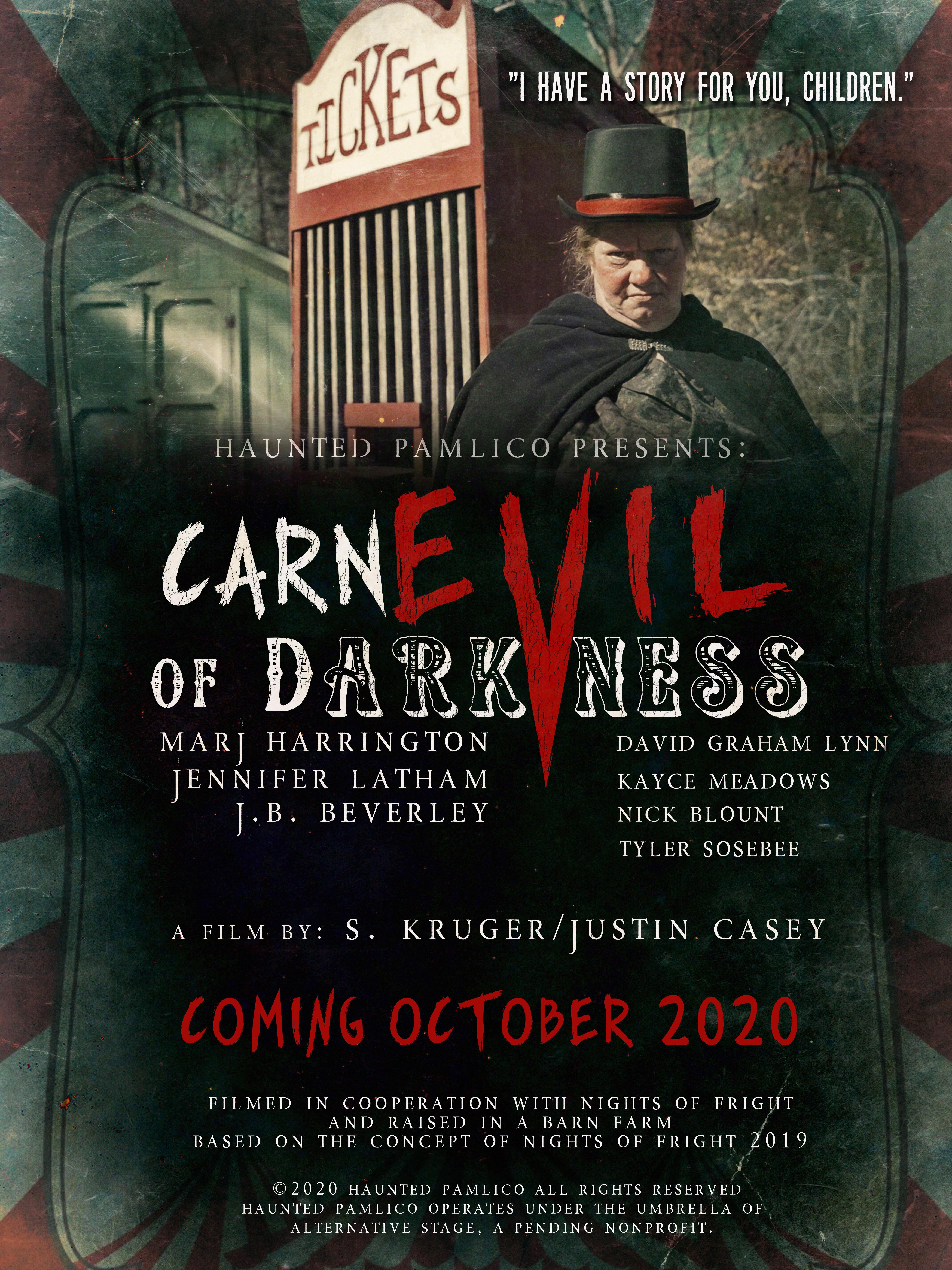 Carnival of Darkness Film Festival 2020 Poster