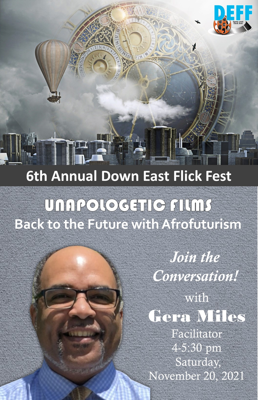 Gera Miles' Unapologetic Films: Back to the Future with Afrofuturism
